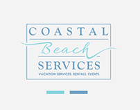Luxury logo for beach services company