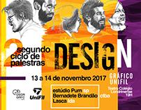 Ciclo de Palestras Design Gráfico Unifil