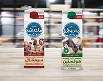 New Dairy Product Packaging and Branding