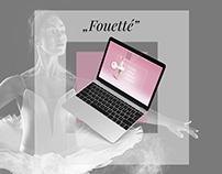 Szkoła Tańca i Baletu Fouette ///// Web Design