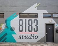 8183 Studio mural