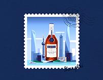 Martell Cognac | Stamps