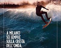 Campagna stampa - Idroscalo Milano