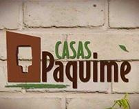 Diseño de página Web para Casas Paquime.