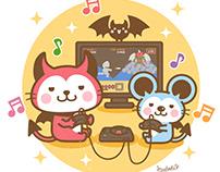 """Devils Cat """"Devi neko-kun"""" 3"""