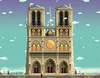 Skatopia - Notre Dame Assets