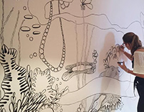 Ocean Mural Painting