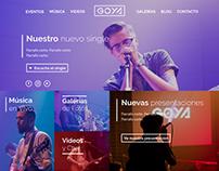 Banda Goya (Proposal: Web Desktop)