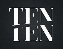 TenTen Brand Identity and Website Design
