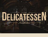 Logo Delicatessen By Amasterdam,San Martín, Puerto Rico