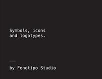 Symbols, Icons and Logotypes.