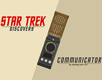Star Trek Discovery Communicator Poster