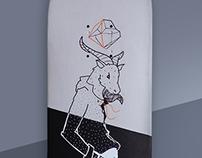 Capricorn Handmade Skateboard