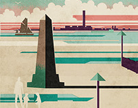 Chalkwell Beach Poster