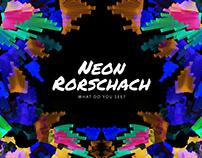 Neon Rorschach