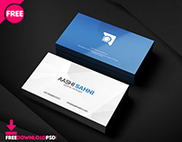 Free Graphic Designer Bussiness Card PSD Template