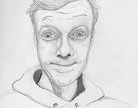 Alien-looking Self-Portrait