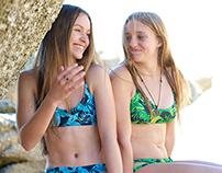LuLu Teen Swimwear - Tropical Print