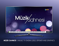 MÜZİK SAHNESİ | MUSIC TV SHOW LOGO, OPENER AND GRAPHICS