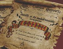 Invitacion Cumpleaños Harry Potter