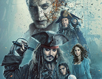 PIRATES OF THE CARIBBEAN 5 Key Art