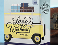 Long Weekend (Fielding Estate Winery) Boxed Wine Design