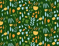 Fanciful Botanical Pattern