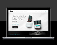 Dr. Brandt Skincare Responsive E-commerce Website