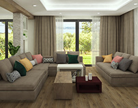 Crossing Point - Family House Interior Design
