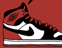 Air Jordans Illustration