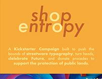 Shop Entropy - A Kickstarter Campaign