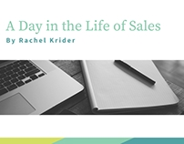 A Day in the Life of Sales with Rachel Krider
