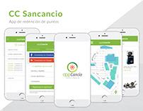 App Centro Comercial San Cancio UI/UX
