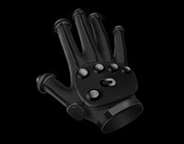 Grip Simulating Virtual Reality Glove Controller