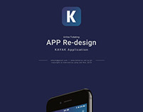 Mobile App Re-design