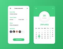 Daily UI-Event App Design