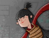 Samurai & Geisha Character Design Challenge