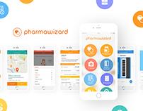Pharmawizard - Branding and UX/UI design