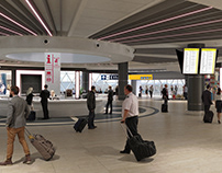 New TERMINAL 3 FCO, Rome IT