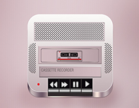 Redesign for Cassette Recorder from Alex Bender