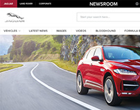 Jaguar Land Rover / Global Media Site Designs