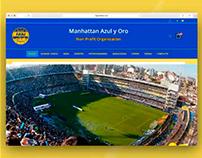 Manhattan Azul y Oro | Diseño Web