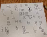 Initials sketches
