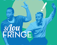 2015 St Lou Fringe Festival Event Signage