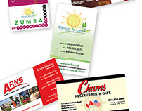 Business Cards & Ticket Design