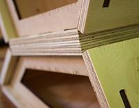 Study Pod - Plywood & Felt