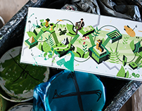 Good Looking Studio x MMC -mural for MTV   Viacom