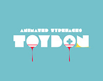 TOYBON animated typefaces