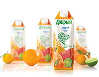 «Dobry» juice for Olympic Games in Sochi, 2014.