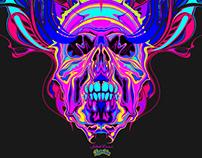 Owl'n'Death - T-Shirt Design